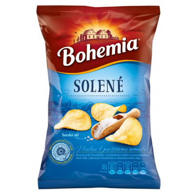 Bohemia Chips solené